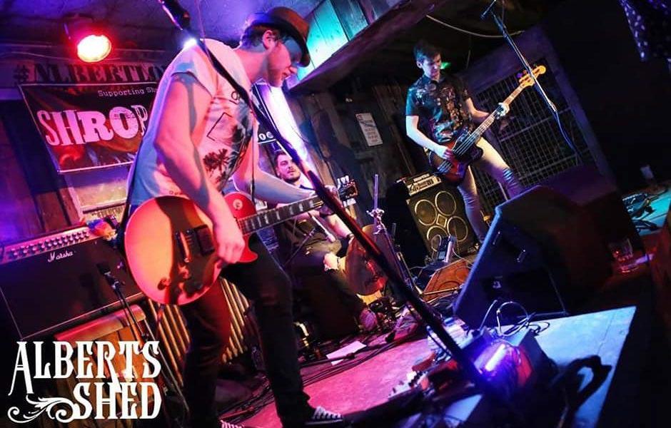 The Barebacks Performing at Albert's Shed Shrewsbury Live Music Bar & Venue
