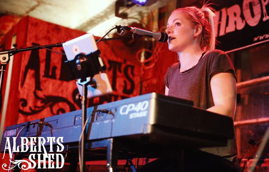 Michaela Wylde Performing at Albert's Shed Shrewsbury Live Music Bar & Venue