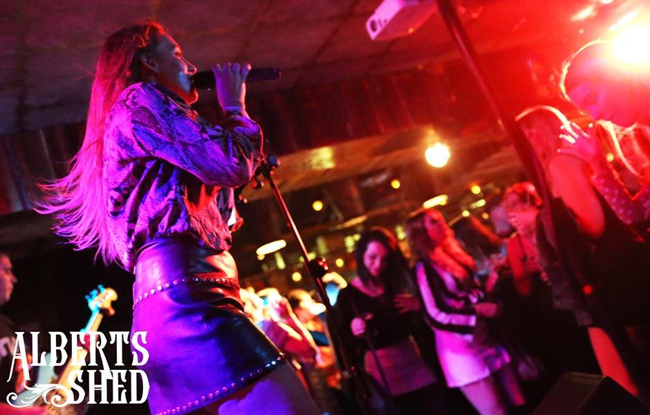 The Vertigo Band Performing at Albert's Shed Shrewsbury Live Music Bar & Venue