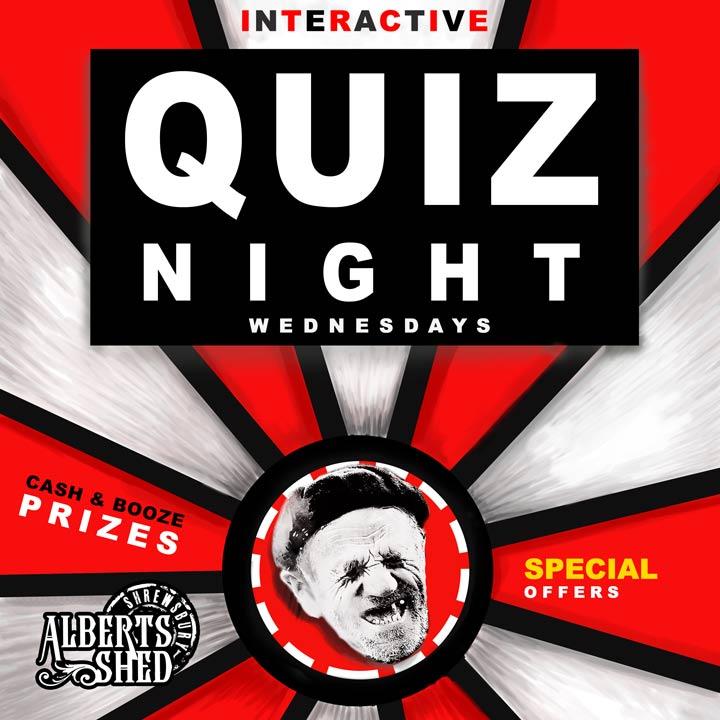 Interactive Quiz Night in Shrewsbury