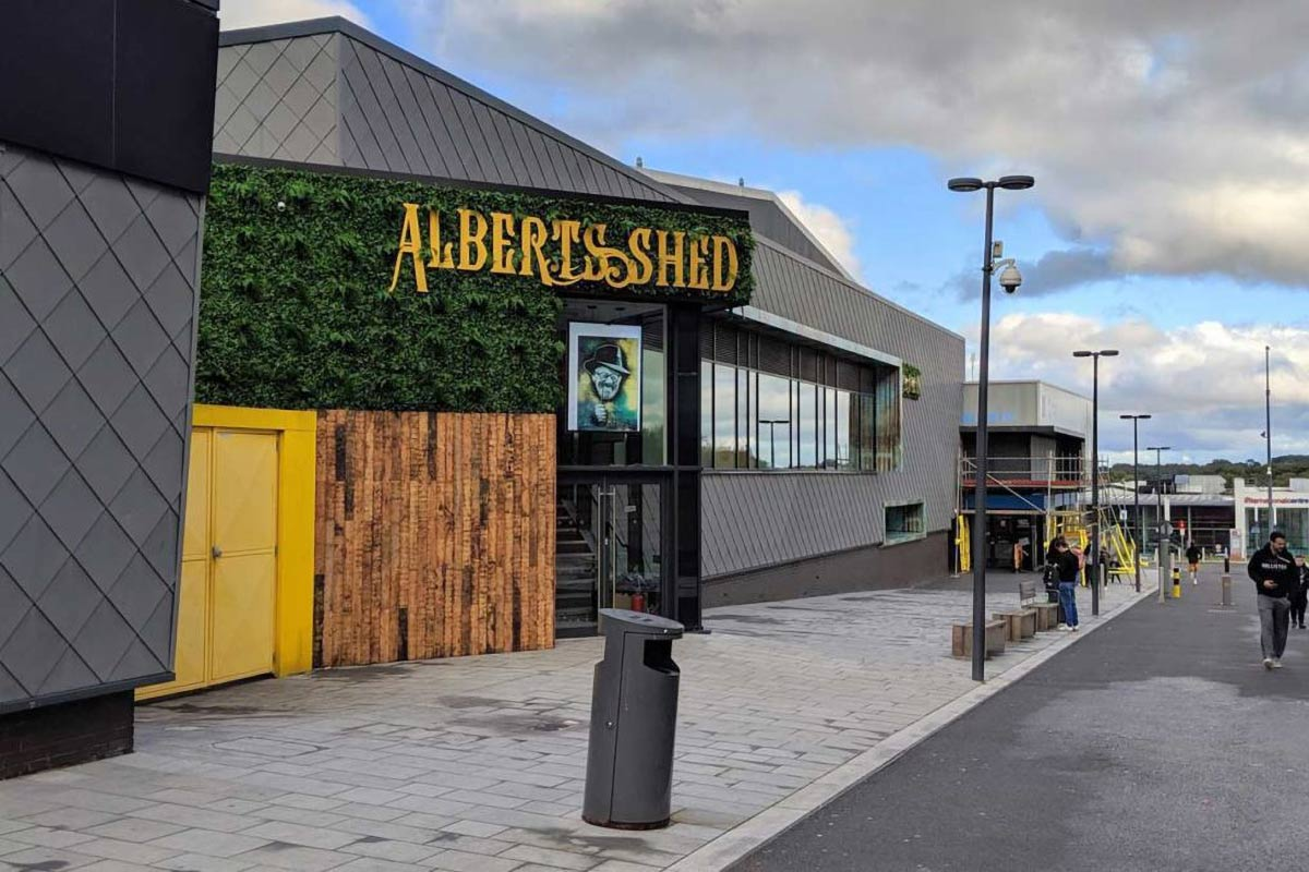 Albert's Shed Southwater